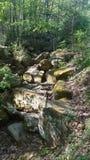 Gott machte Felsenhügel stockfoto
