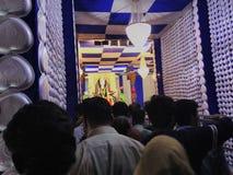 GOTT-GOTT-NATUREN Durga MAA lizenzfreies stockbild