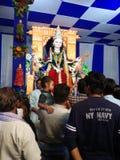 GOTT-GOTT-NATUREN Durga MAA lizenzfreie stockbilder