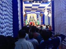 GOTT-GOTT-NATUREN Durga MAA stockfotos