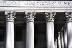 gott regerings- hus för domstol Arkivbild
