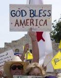 Gott segnen Amerika Lizenzfreie Stockfotos