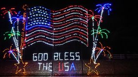 Gott segnen die USA stockfotografie
