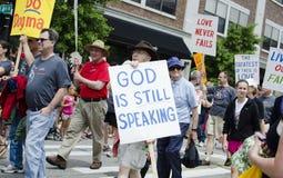 Gott spricht noch II Stockfotografie