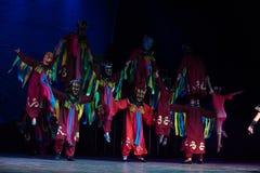 Gott wird-nuo Tanz-akrobatische showBaixi Traum-Nacht Stockfoto