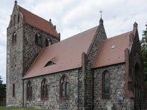 Gottberg-Kirche mt Chor 库存照片