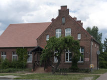 Gottberg-Schulhaus Royalty Free Stock Image