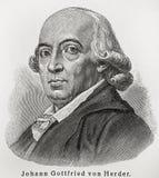 Gottfried herder Johann στοκ εικόνες με δικαίωμα ελεύθερης χρήσης