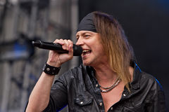 Gotthard. On Masters of Rock 2012 Stock Photo
