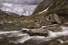 Gotthard Pass Lizenzfreie Stockfotografie