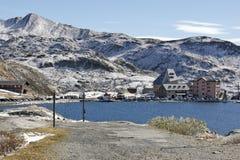 Gotthard Pass, die Schweiz - Höhe 2 106 m Lizenzfreies Stockbild