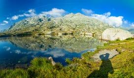 Gotthardpass Fotografia Stock Libera da Diritti