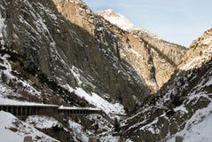 Gotthardstrasse, die Schweiz Lizenzfreie Stockbilder