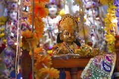 Gottheitsstatue Bal Shree Krishna lizenzfreie stockbilder