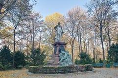 Gotthold Ephraim Lessing in Berlin, Germany Stock Images