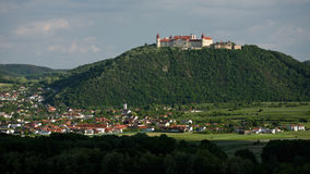 Gottweig Abbey, Wachau, Austria. Historical Gottweig abbey above Furth bei Gottweig village in Wachau - Austria royalty free stock images