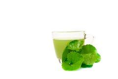 Gotu kola's leafs drink Royalty Free Stock Photos