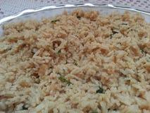 Gotujący biali Tajlandzcy ryż obraz royalty free