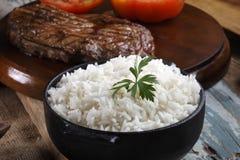 gotujący ryż zdjęcia stock