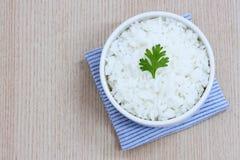 gotujący ryż zdjęcie stock