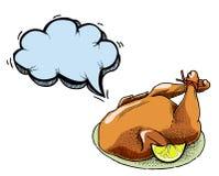 Gotujący turkey-100 ilustracja wektor
