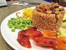 gotujący mieszani ryż Zdjęcia Royalty Free