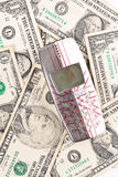 gotówkowy stary target1076_1_ telefonu twój Fotografia Stock