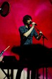 Gotye performs at Bumbershoot Stock Photography