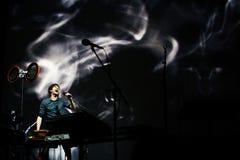 Gotye performs at Bumbershoot Royalty Free Stock Image