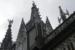 Gotyków szczegóły - lasów lajas kościelni obrazy royalty free