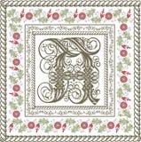 Gotyk. Piękna rama z kwiatu ornamentem. Obraz Royalty Free