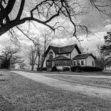 Gotyka gospodarstwa rolnego dom 2 zdjęcia stock