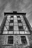 Gotyka wierza w Toruńskim, Polska zdjęcia stock