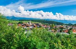 Gotzens village near Innsbruck, Austria. Gotzens village near Innsbruck, western Austria royalty free stock photo
