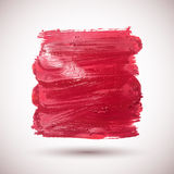 Gouache-brush-red. Vector red watercolor background. Colorful abstract texture. Vector design elements. Blot background. Vector watercolor spot Royalty Free Illustration