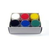 Gouache multicolore Photographie stock libre de droits
