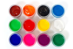 Gouache paint Royalty Free Stock Photography