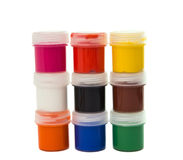 Gouache of paint Royalty Free Stock Image