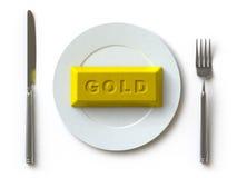 Goud stock illustratie