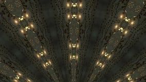 Goud die abstracte achtergrond met stralen roteren royalty-vrije illustratie
