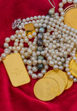 Goud en juwelen Royalty-vrije Stock Afbeelding