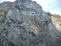 Goud gebaseerde steenkool Royalty-vrije Stock Fotografie