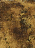 Goud Geschilderd Document stock afbeeldingen