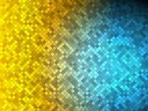 Goud versus blauw Royalty-vrije Stock Fotografie