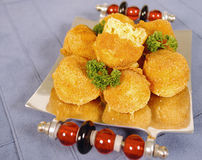 Gouda balls Royalty Free Stock Image