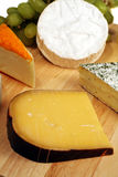 Gouda cheeseboard Stock Photo