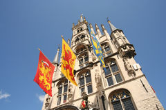 Gouda City Hall Stock Photo