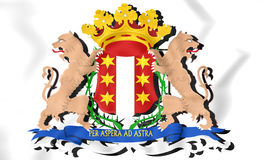 Gouda coat of arms South Holland, Netherlands. Royalty Free Stock Photography