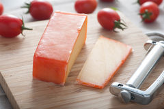 Gouda-Käse stockfotos