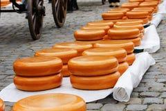 Gouda, mercado velho do queijo da Holanda Foto de Stock